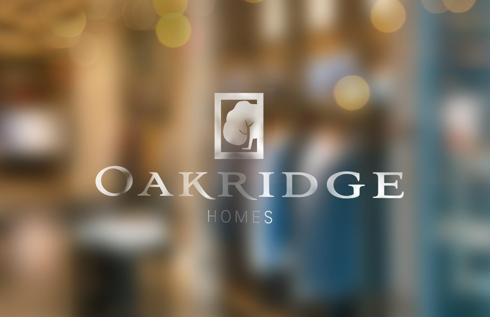 Branding for Oakridge Homes 01