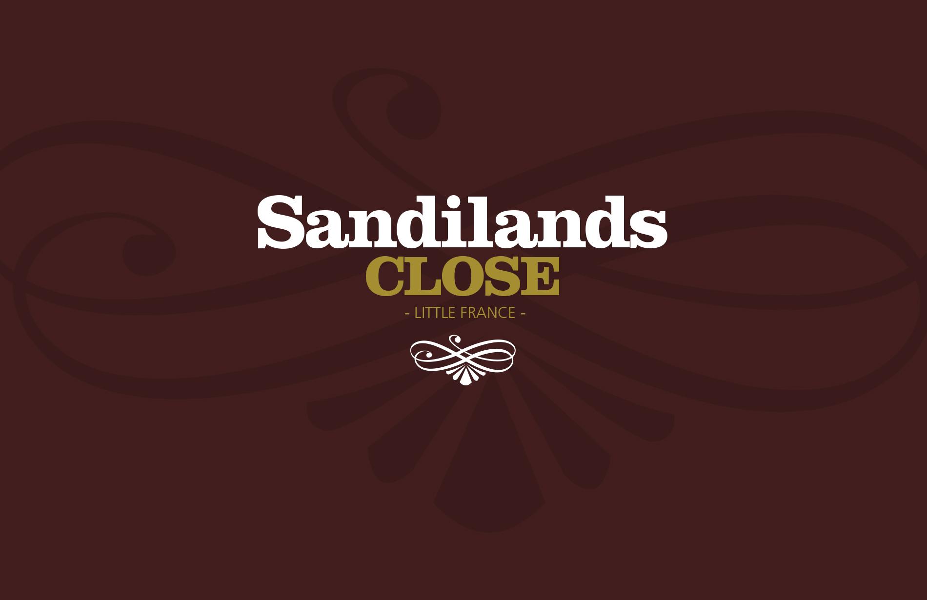 Branding for Sandilands Close housing development 01
